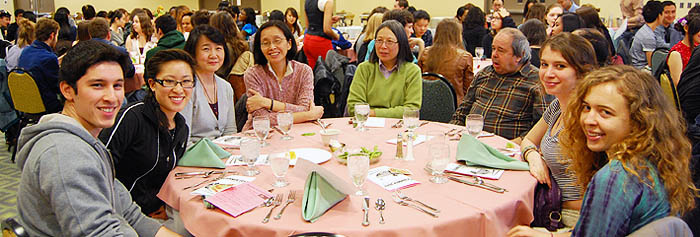 Asian Cultural Awareness Club dinner (photo by Jarred Green '15)