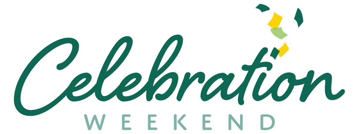 Join us for Celebration Weekend